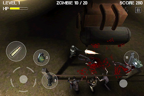Screenshot Z.I.D : Zombies In Dark