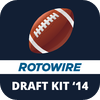 Roto Sports, Inc. - RotoWire Fantasy Football Draft Kit 2014  artwork